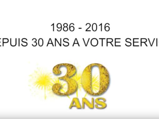 Montage et Maintenance, 30 ans déjà !