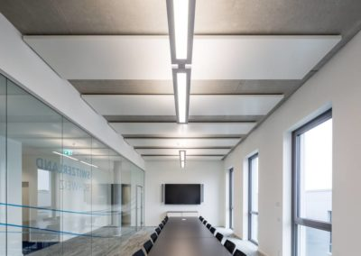 Plafonds ilots actifs rayonnats Barcol Air type A11 SUISSE